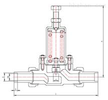 DY22F低温降压调节阀