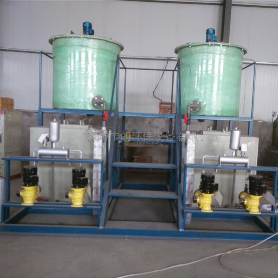 标配版PAC撬装式絮凝加药装置设备供应商