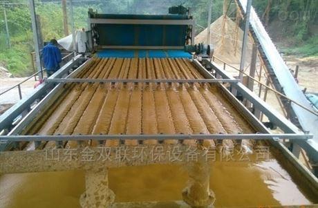各种污泥脱水机的工作原理介绍
