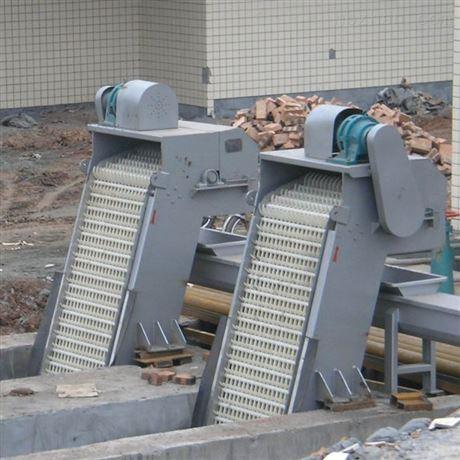 雨水泵站污水处理配套设备 不锈钢机械格栅除污机