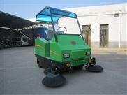 陕西普森环保驾驶式小型敞篷扫地机