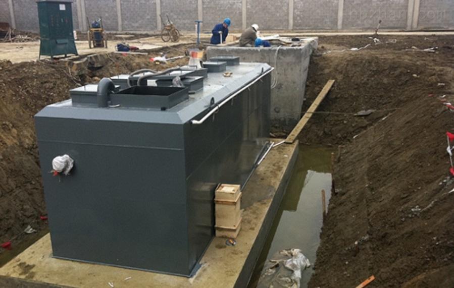 杀猪血水废水处理设备安装调试
