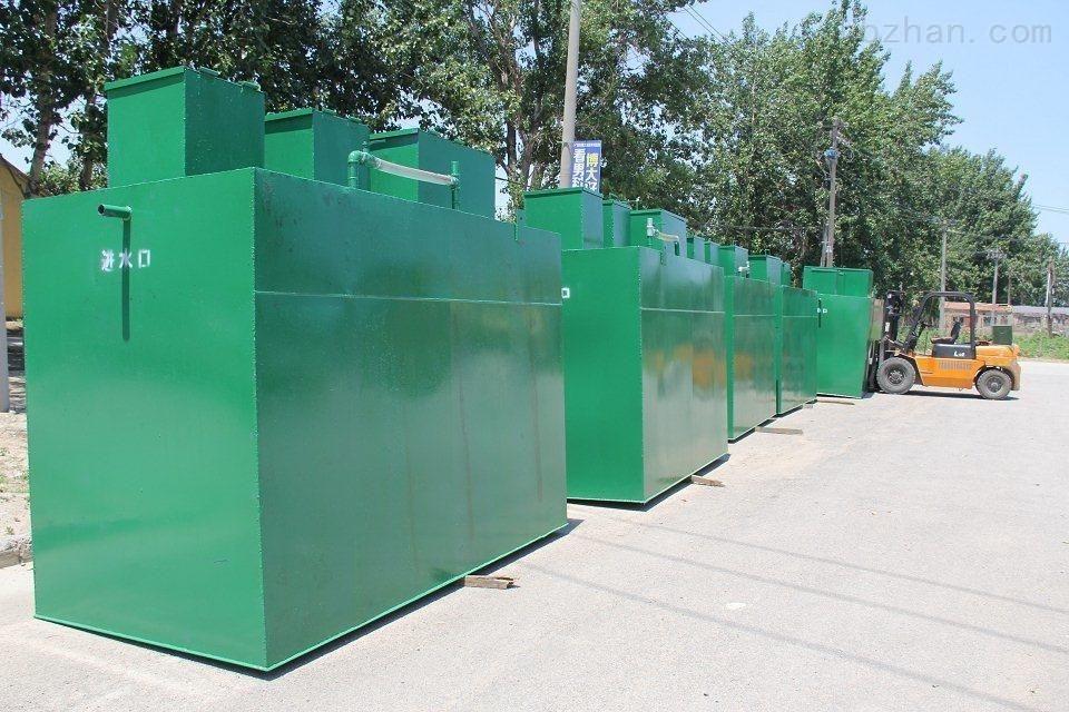 城镇屠宰场废水设备安装说明