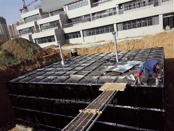 地埋式箱泵一体化给水设备