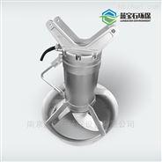 QJB型潛水攪拌機為混合攪拌和低速推流
