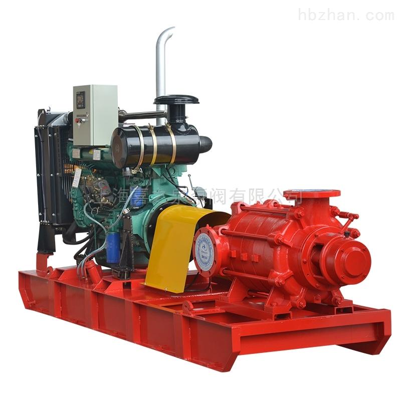 柴油机多级消防泵结构特点