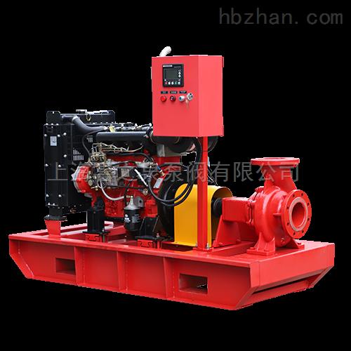 卧式柴油机消防泵产品特点