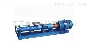 G型衛生級螺杆泵