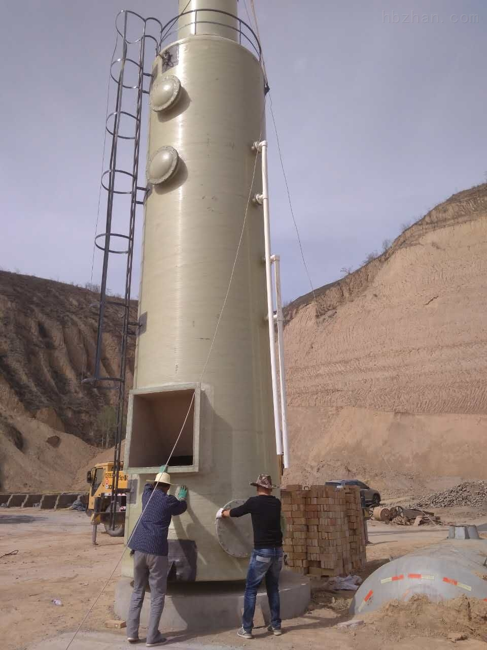 鄂尔多斯脱硫设备砖厂隧道窑脱硫设备