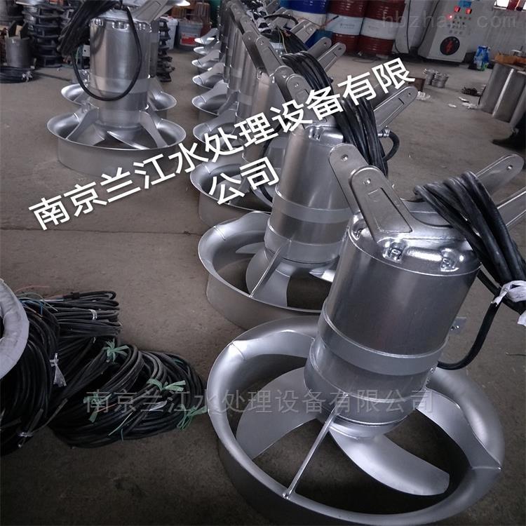 南京污泥池潜水搅拌机厂家