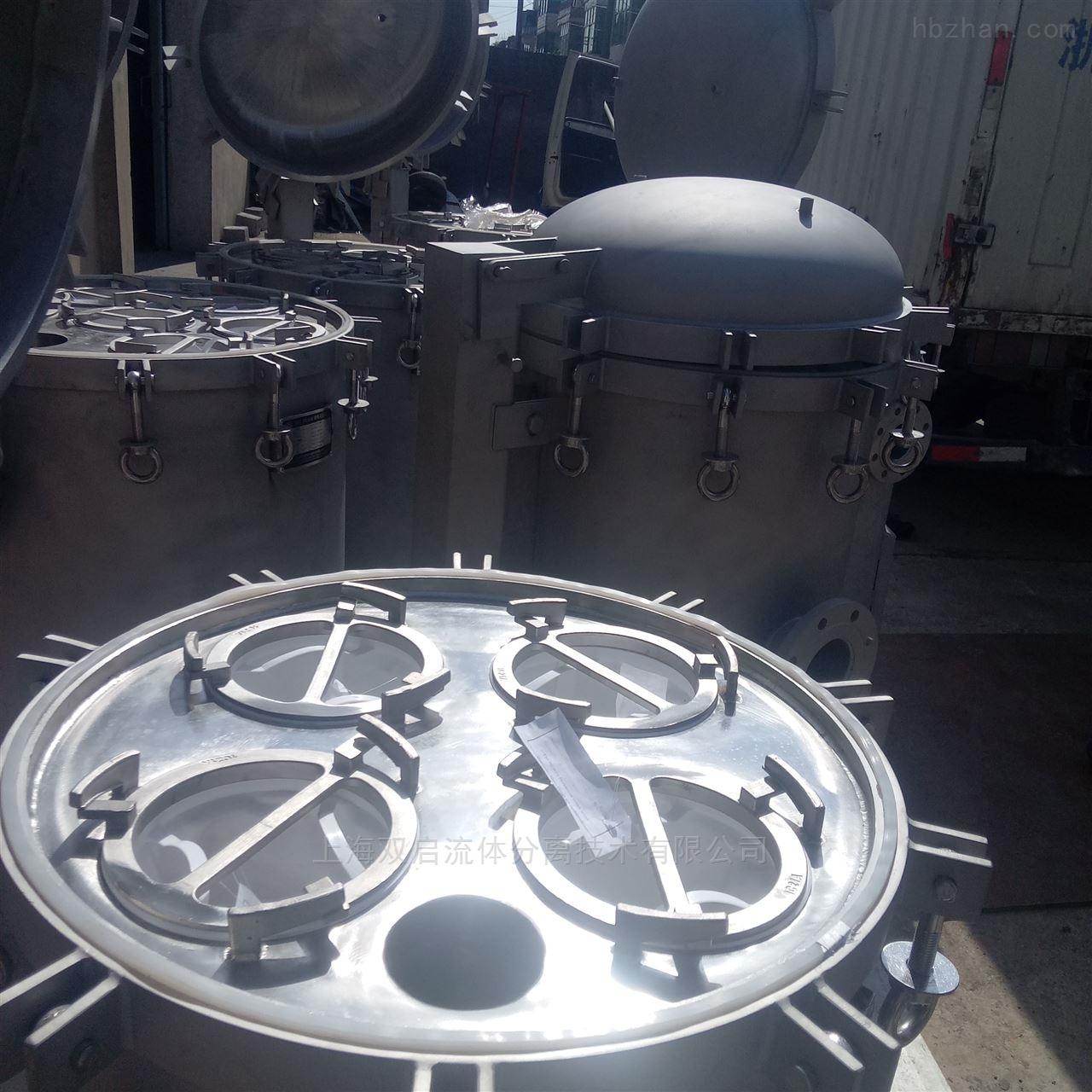 HECB-不锈钢袋式过滤机选型