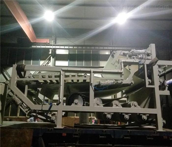 双网带式污泥处理设备淀粉厂废渣脱水压榨机