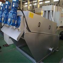 叠螺式污泥脱水机污泥处理设备运行管理简单