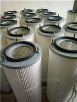 喷粉房用粉末回收外螺纹扣325*900滤筒