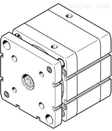 FESTO气动缓冲型气缸,ADNGF-100-230-PPS-A