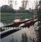 供应实心填充清淤夹管塑料浮筒 管道浮筒