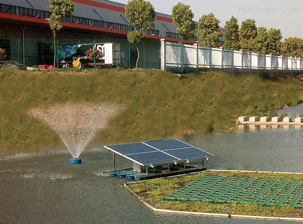 RKSUN370浮水喷泉式的太阳能曝气机