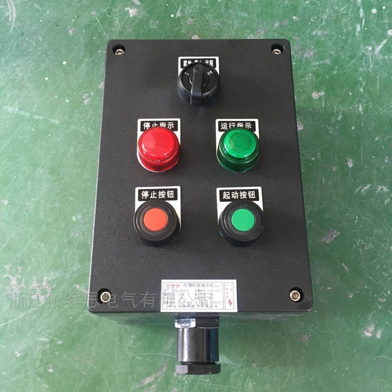 A2D2K1防爆防腐操作柱-LCZ8030防爆按钮箱