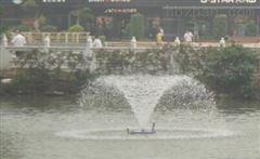 景观湖泊水解层式太阳能曝气机