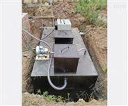 景区污水处理设备的操作方法