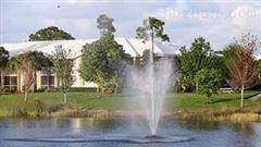 人工湖提水式增氧曝气机