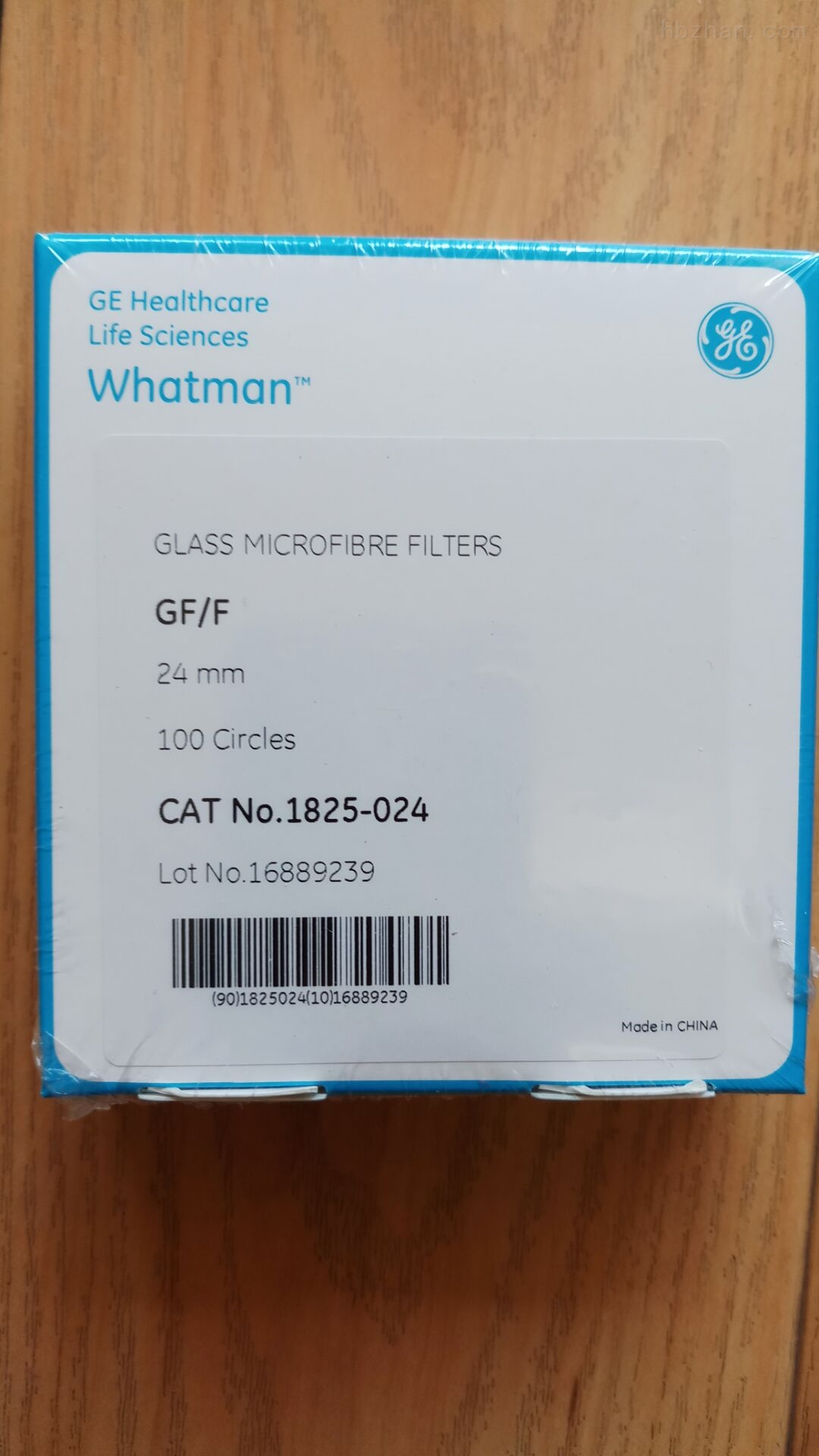 GE Whatman0.7um24mm玻璃纤维滤纸GradeGF/F