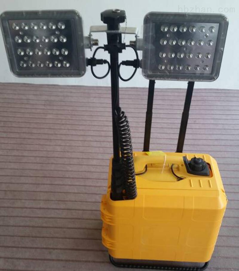 FW6108大型移动式现场勘查灯开普静音发电机