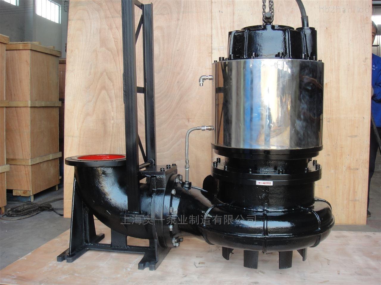 自搅匀强力切割排污泵