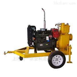 拖车式防汛移动泵车