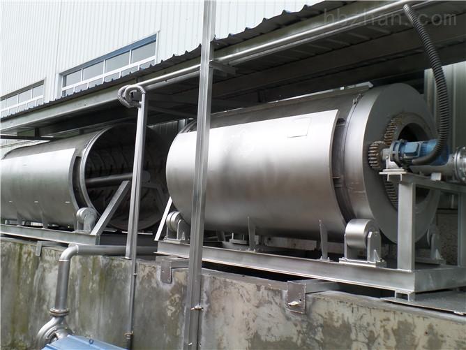 双联污水处理微滤机