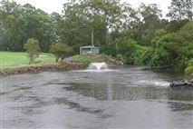 河道美观推流曝气机 喷泉