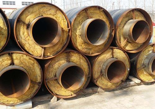 鋼套鋼蒸汽保溫管廠家