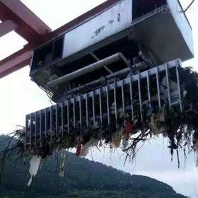 城市污水处理厂回转耙式格栅除污机