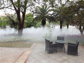 广州别墅公园景区喷雾系统