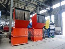 环保型成串油漆桶破碎机规格型号