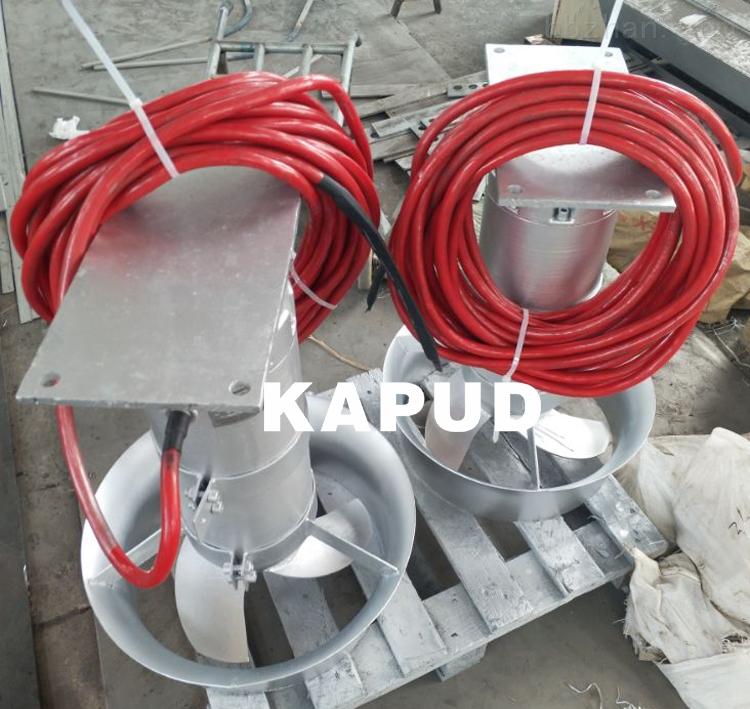 热处理淬火工艺 耐高温潜水推流搅拌机