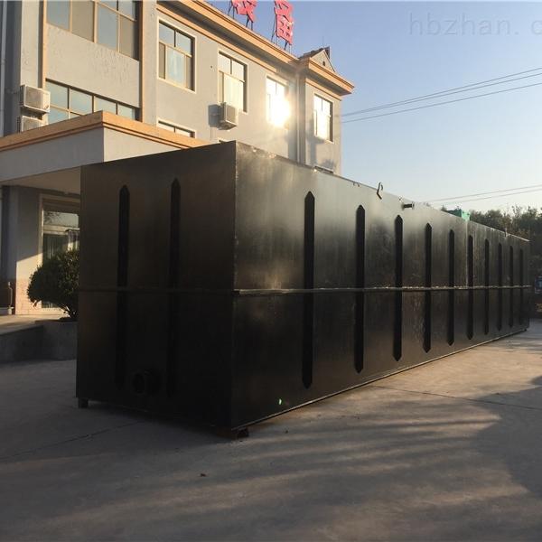 10吨地埋式一体化污水处理设备施工图