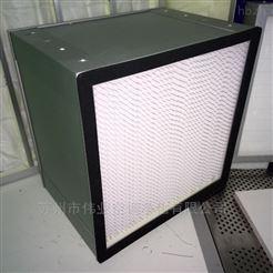 Jw-GK系列不锈钢框有隔板髙效空气过滤器