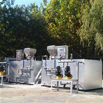 fl-hb-jy不锈钢箱体硫酸亚铁加药装配装备厂家