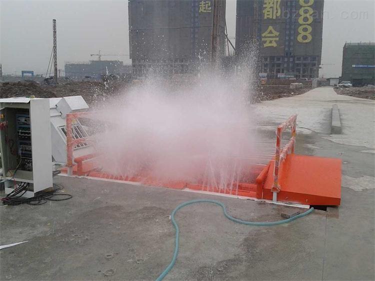 珠海工地自动冲洗槽,工地洗轮机