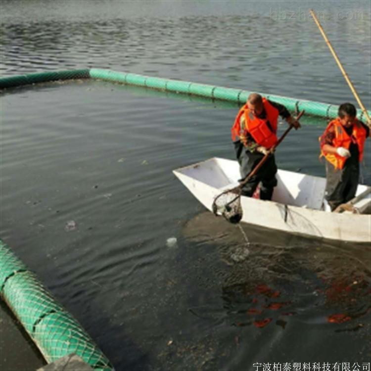 重庆河道拦污浮体拦截水草浮体介绍