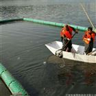 浮筒水面浮萍拦截装置塑料拦污栅厂家