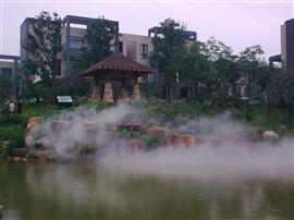 江门水景人工湖造雾