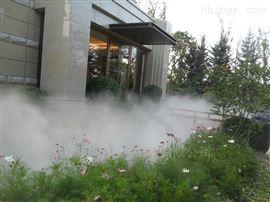广州别墅园林人造雾