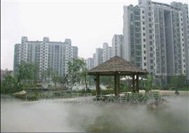 潮州水景人工湖造雾