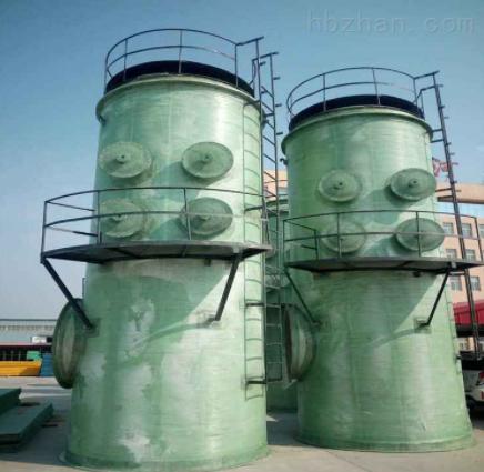 耐高温玻璃钢脱硫塔