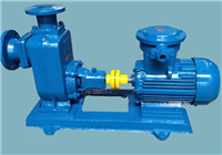 ZW型无堵塞式自吸排污泵