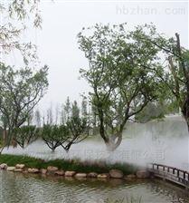 深圳水景人工湖造雾