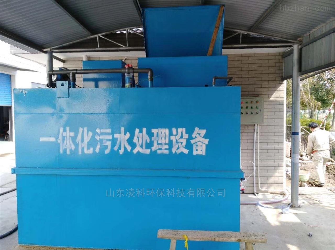 宜春一体化废水提升泵站工艺流程