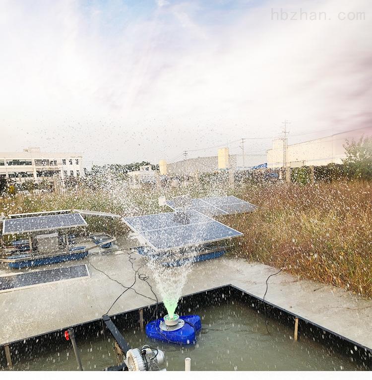 QFB1.5如克优质浮船太阳能曝气机